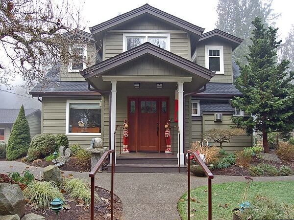 Red Door Craftsman Home Renovation